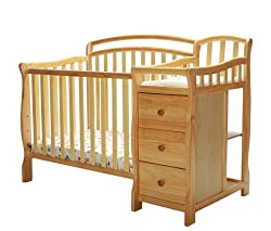 Dream On Me Casco Mini Crib and Dressing Table Combo