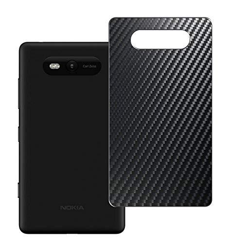VacFun 2 Pezzi Pellicola Protettiva Posteriore - Nero, compatibile con NOKIA Lumia 820 (Non Vetro Temperato Protezioni Schermo Cover Custodia) Back Film Protettivo