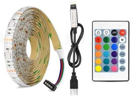 USB-LED-strip licht - DC 5V USB-LED-strip 5050 RGB flexibele LED voor TV achtergrond licht 4m 120 LED voor TV/PC/laptop achtergrond verlichting