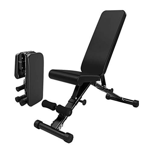 FFAN Fitness Stuhl Hantel Bank Home Multifunktions-Sit-Up-Board Bauchmuskel Fitnessgeräte Klappbankdrücken Multi-Angle Adjustment Folding Platzsparend