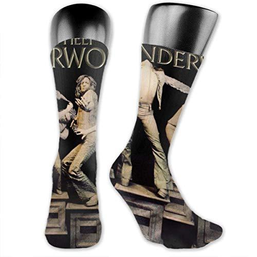 Uriah Heep Wonderworld Sport, respirant, chaussettes mi-longues de conception de mode, chaussette