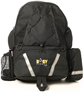 Baby Sherpa Diaper Backpack - Black (Discontinued by Manufacturer)