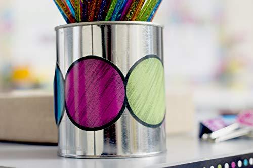Teacher Created Resources 3498 Chalkboard Brights Circles Die-Cut Border Trim Photo #3