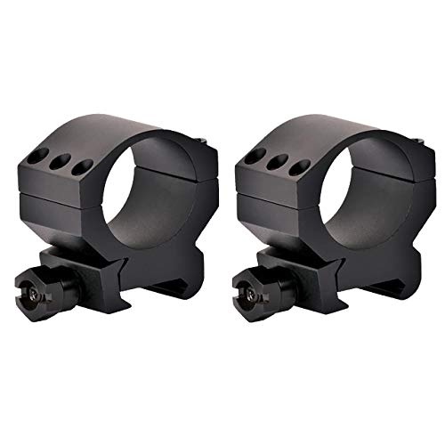 Vortex Optics Tactical 30mm Riflescope Ring — Medium Height [0.97 Inches | 24.6 mm] - 2 Pack
