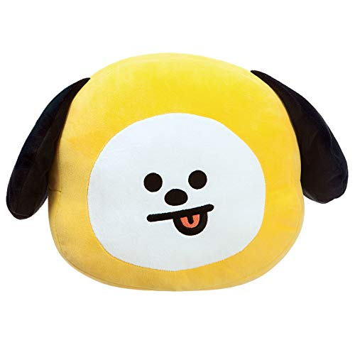 BT21 Official Merchandise Kissen by Aurora World, CHIMMY Plüschkissen, gelb