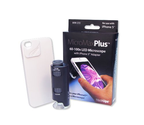 Carson® MicroMax Plus 2 LED Microscope with iPhone 5 Adapter (MM-255)