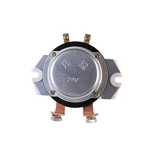 Relé de batería de 24 V Relé de interruptor Reemplazo del interruptor principal de la batería Relé de batería para excavadoras PC78US-6 PC78UU-6 PC100-6 24 V 08088-30000 Accesorios para excavadoras
