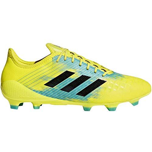 adidas Predator Malice Control (FG), Botas de Rugby para Hombre, Amarillo (Shoyel/Cblack/Hiraqu Shoyel/Cblack/Hiraqu), 40 EU