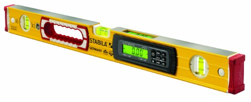 Stabila 36540 48-Inch Electronic Magnetic Dust and Waterproof IP65 TECH Level with Case -
