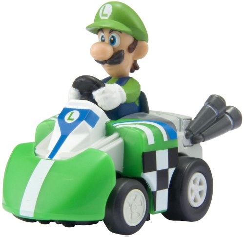Choro-Q Hybrid Mario Kart Wii, Luici Pullback QZM-04