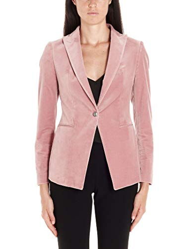 TAGLIATORE Luxury Fashion Damen JGILDA15A80047Y1329 Rosa Elastan Blazer | Herbst Winter 19
