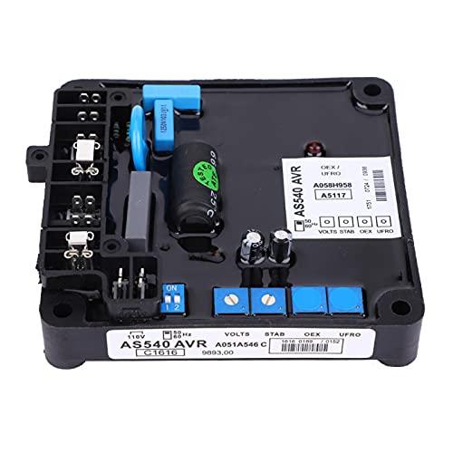 Regulador de voltaje de componente electrónico para generador sin escobillas.
