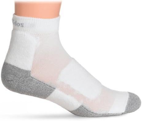 Thorlo Men's Lite Walking Mini Crew Sock Level 2 lwmxm,White,M12-14
