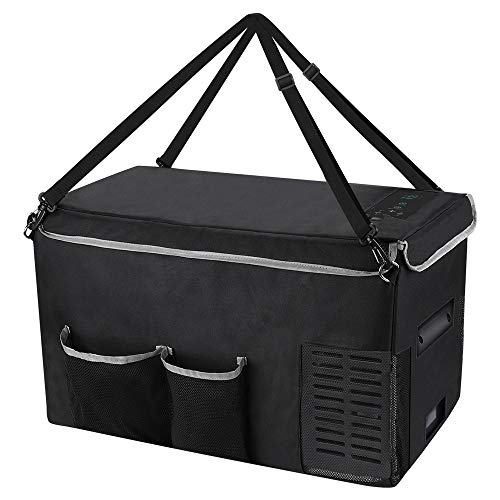 ARLT Bolso de almacenamiento de refrigerador de coches 18l 25l Bolsa de transporte portátil de 25L para mini nevera Mantener la refrigeración a prueba de goteo (Color Name : 25L protective bag)