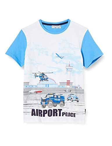Salt & Pepper Jungen 03112153 T-Shirt, Blau (River Blue 451), (Herstellergröße: 92/98)