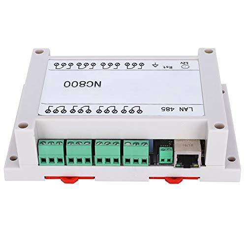 Weikeya Control Remoto TCP/IP, Caja de alimentación de 250V / CA 145 * 90 * 40 mm de plástico y PCB 250V (Blanco)