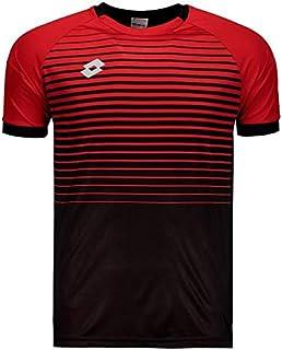 Camisa Lotto Aspen 2.0 Preta e Vermelha