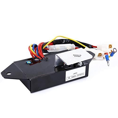 Regulador de voltaje automático AVR generador 8.5-20KVA para generador Kubota J320 J324