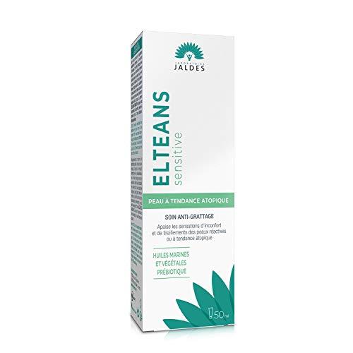 ELTEANS Sensitive (crema) | Para hidratar y calmar las pieles sensibles a atópicas | Rostro y cuerpo | Tubo de 50 ml | 99,4% de ingredientes naturales