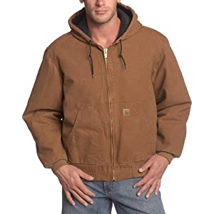 Carhartt Men's Sandstone Tall Active Jacket Coat