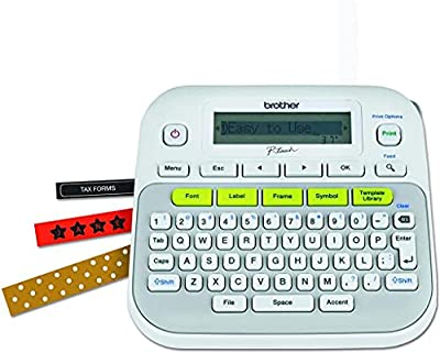 P-Touch, PTD210, Easy-to-Use Label Maker, One-Touch Keys