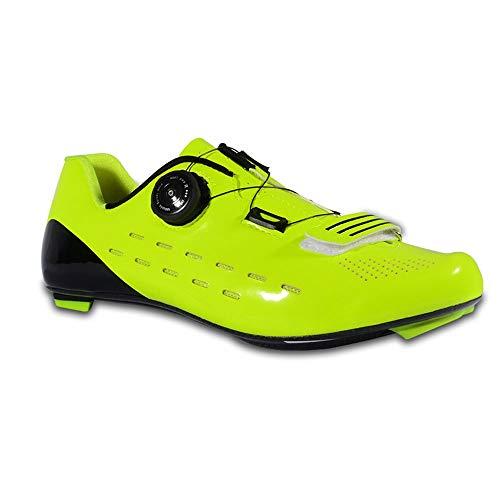 GET Zapatillas de Ciclismo Ligeras de Fibra de Carbono, Bicicleta de Carretera...