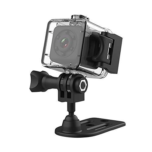Zwbfu 1080P Mini Micro Cámara Full HD Video Cámara inalámbrica Visión nocturna Audio Detección de movimiento para bebé Mascota Oficina al aire libre Coche Seguridad en el hogar con carcasa impermeable