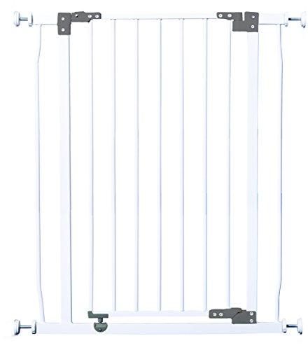 Dreambaby F1961 Liberty extra hohes Treppenschutzgitter / Türschutzgitter (75-82cm) weiß
