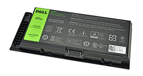 Brand New Dell Original 9 Cell 87Whr Battery For Precision M4700 M4600 M6700 ...