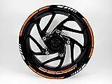 Bike Label 710038A - Juego de Adhesivos para llanta para KTM 690 Duke