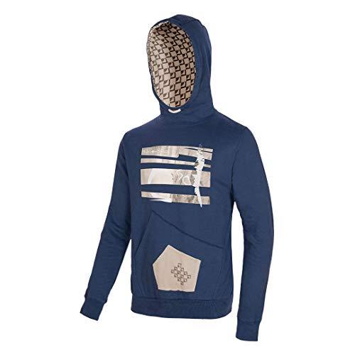 Trangoworld Orice Maillot de survêtement Homme, Bleu, XL