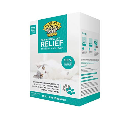 Precious Cat Respiratory Relief Cat Litter with Herbal Essences, 20 lb