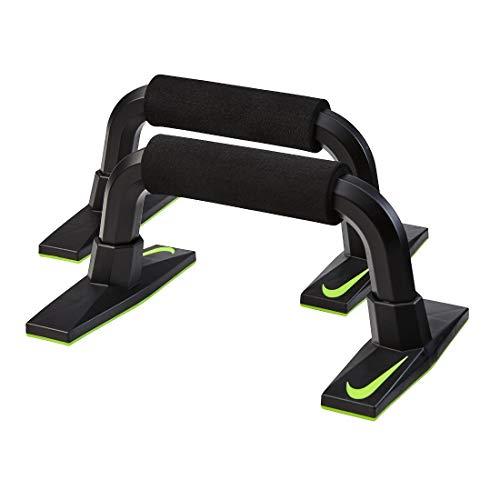 Nike Unisex– Erwachsene Push UP Grip 3.0 Liegestützgriffe, Black/White, NS