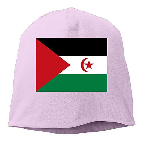 Fashion New Warm Unisex Mens Womens Flag of Western Sahara Hats Beanie Cuff Skating Toboggan Wool Warm Skull Caps
