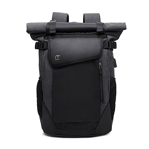 TangCool Polyester Black Casual Backpack
