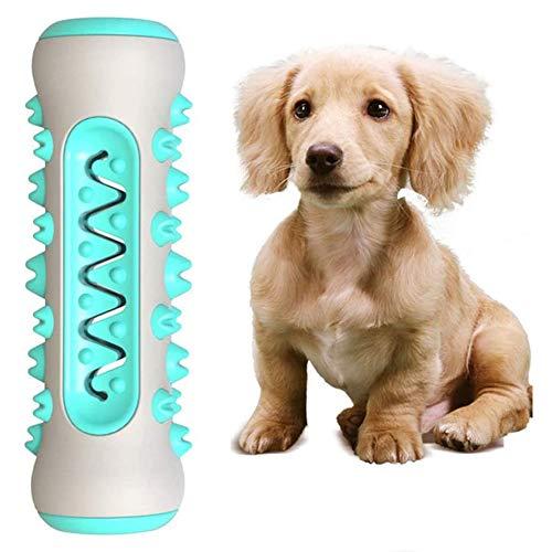 Kinderziektes Dog Toy kauwspeeltje tandenborstel, Treat Pet Training kauwen speel goed voor voedseldistributie, Stick Bone voor honden,Blue