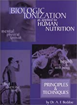 Biologic Ionization As Applied to Human Nutrition