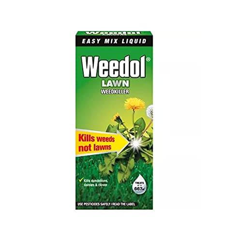 Weedol Lawn Weedkiller Easy Mix Liquid Concentrate 1L