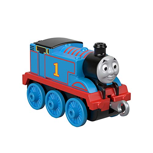 Thomas & Friends FXW99 Trackmaster Push Along Thomas Metall-Lokomotive, Zugmotoren-Sortiment, Mehrfarbig