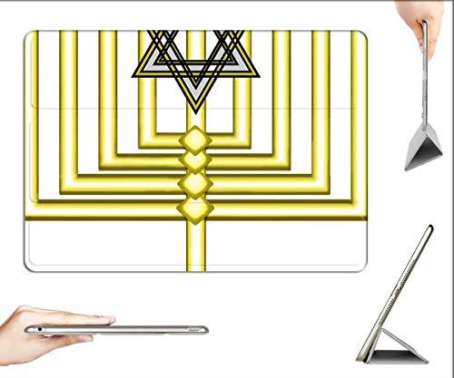 Case for iPad Pro 12.9 inch 2020 & 2018 - Menorah Hanakkah Jewish Holiday Hanukah Candles