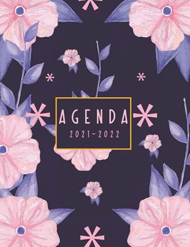 Agenda 2021-2022: Agenda de Juin 2021 à Décembre 2022 . Organisateur et Planificateur Semainier Simple et Pratique . Calendrier mensuel , Todo list , Notes