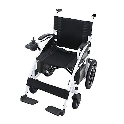 電動車椅子 白 折りたたみ 車椅子 PSE適合 TAISコード取得済 コンパクト ノーパンクタイヤ 電動 手動 充電 電動ユニット 電動アシスト 電動カート 折り畳み 車椅子 車イス 車いす 四輪車 4輪車 移動 介護 電動車いす ホワイト scooter