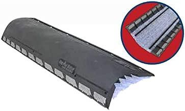 Air Vent Hip Ridge Vent Black Carton of 10 4ft. Pieces