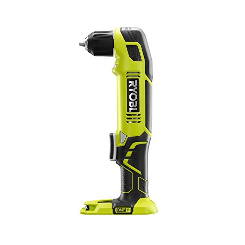 Ryobi P241 One+ 18 Volt Lithium Ion 130 Inch Pounds 1,100 RPM 3/8 Inch Right Angle Drill
