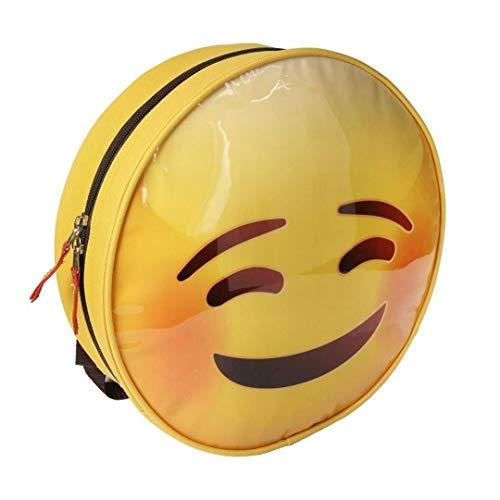 Cerdá Emoji Kinder-Rucksack, 70 cm, Gelb (amarillo)