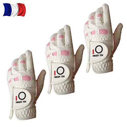 Gants De Golf Femme Main Gauche Droite Synthétique Pluie...
