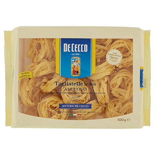 De Cecco Tagliatelle all'Uovo Impastate con Uova Fresche - 500 g