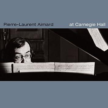 Aimard at Carnegie Hall