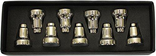 Majestic Giftware Menorah Drip Cups Nickel 1' H-MNDC-N