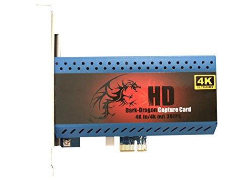 『4K 対応 キャプチャーカード ゲーム PS4 Pro Xbox OneX gameplay Capture Card PCIe キャプチャー』のトップ画像